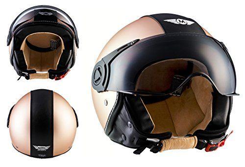MOTO HELMETS H44 Helmet Casco Demi-Jet Bobber Moto Motocicleta Urban Ropa para motoristas