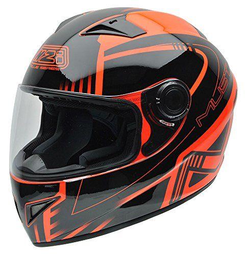 NZI 150196G677 Must Multi Xlogo Orange Casco de Moto Ropa para motoristas