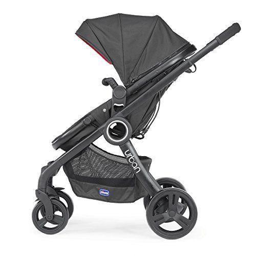 Chicco Urban Plus – Carrito transformable en capazo y silla de paseo,