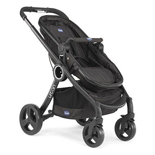 Chicco Urban Plus – Carrito transformable en capazo y silla de paseo, Carritos y sillas de paseo para bebé