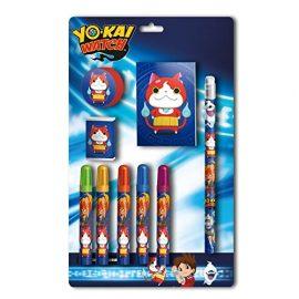 Yo-Kai Watch – Set papelería 9 piezas (CYP Imports GS-408-YK)