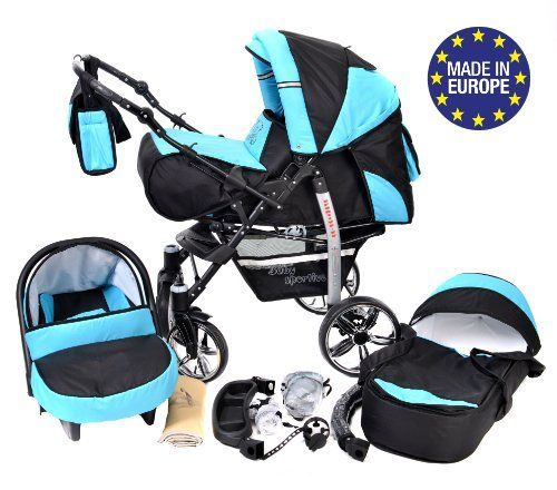 Baby Sportive – Sistema de viaje 3 en 1, silla de paseo, carrito con Carritos y sillas de paseo para bebé