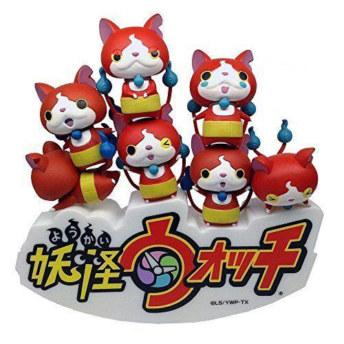 Yo-Kai Watch Nose Chara NOS-30 Jibanyan Figura Set Juguetes y juegos Yo-Kai Watch