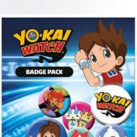 Yo-Kai Watch – Mix, 4 X 25mm & 2 X 32mm Chapas Set De Chapas (15 x