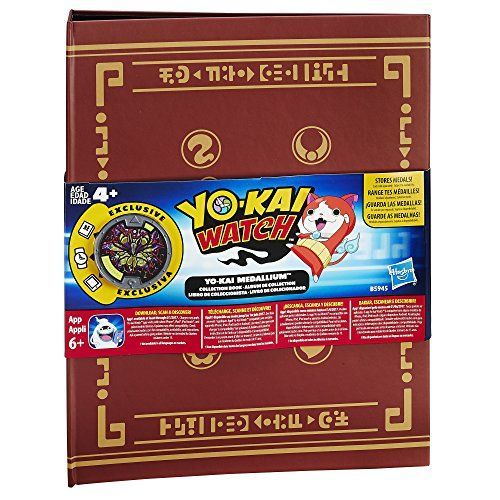 Yo-kai Watch Yo-kai Medallium Collection Book Juguetes y juegos Yo-Kai Watch