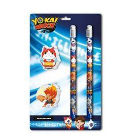 Yo-Kai Watch - Set papelería 4 piezas (CYP Imports GS-411-YK)