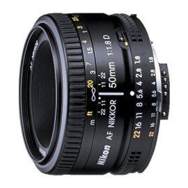 Nikon AF Nikkor 50mm – Objetivo para Nikon (distancia focal fija 50