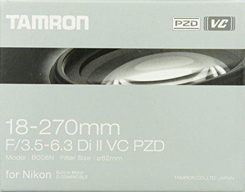 Tamron 18-270 mm Di II VC PZD - Objetivo para Nikon (18-270 mm,