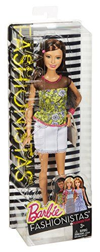 Barbie - Muñeca amiga Fashionista 1 (Mattel CLN62)