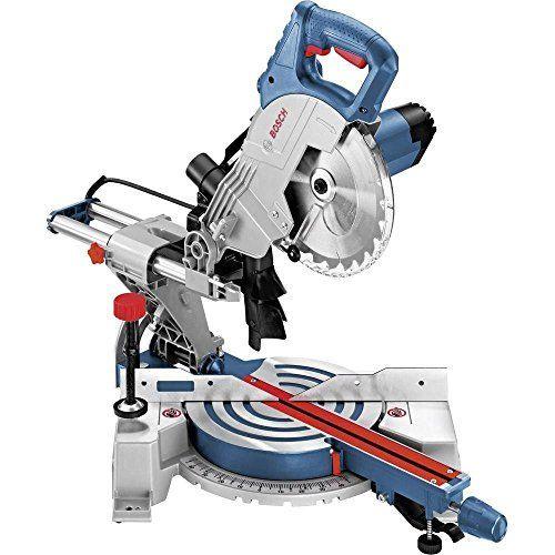 Bosch Profesional Ingletadora telescópica GCM 800 SJ (potencia: 1400 Bricolaje y herramientas