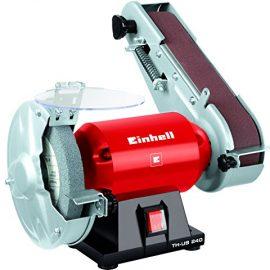Einhell TH-US 240 - Esmeriladora combinada (potencia: 240 W, velocidad