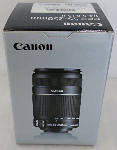 Canon EF-S 4-5.6/55-250 IS II - Objetivo para Canon (distancia focal