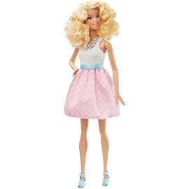 Barbie Fashionistas – Muñeca, rosa colorete (Mattel DGY57)