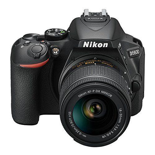 "Nikon D5600 - Cámara réflex de 24.2 MP (pantalla táctil de 3"", Full"