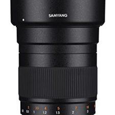 Samyang F1112203101 – Objetivo fotográfico DSLR para Nikon F AE Objetivos para Cámaras