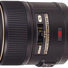 Nikon AF-S VR Micro 105mm F2.8 G IF-ED – Objetivo con montura para Objetivos para Cámaras