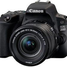 Canon EOS 200D – Cámara digital réflex de 24.2 MP pantalla táctil Cámaras réflex