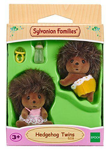 Sylvanian Families – Gemelos erizos (Epoch para Imaginar 5218)