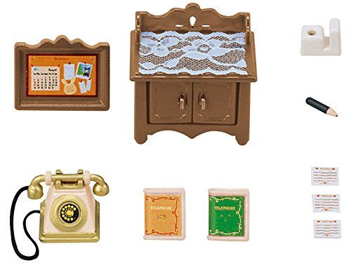 Sylvanian Families – Set muebles clásicos para casa campo básica