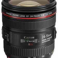 Canon 24-70 mm f/4 L IS USM EF – Objetivo para Canon Objetivos para Cámaras