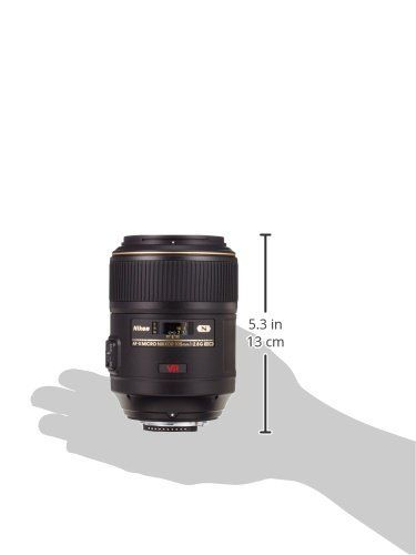 Nikon AF-S VR Micro 105mm F2.8 G IF-ED - Objetivo con montura para