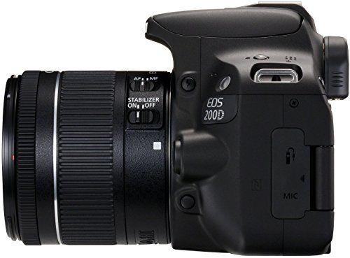Canon EOS 200D - Cámara digital réflex de 24.2 MP pantalla táctil