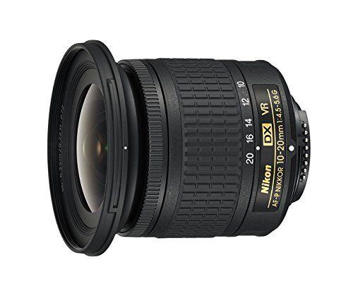 Nikon AF de p DX NIKKOR 10–20mm 1: 4.5–5.6G VR Lente