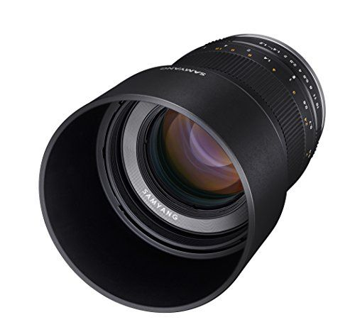 Samyang CSC-Mirrorless - Objetivo fotográfico para Fuji X (50mm F1.2