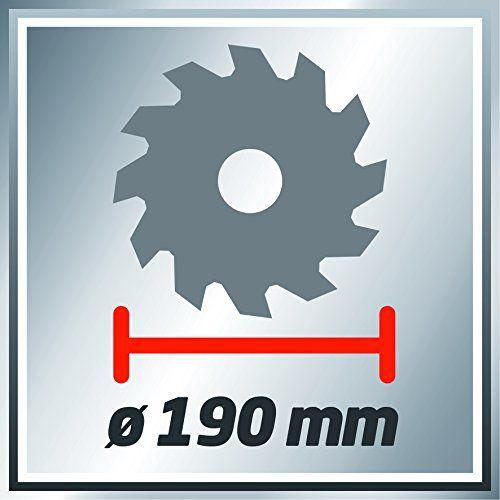 Einhell TC-CS 1400 - Sierra circular (potencia 1400 W, profundidad de
