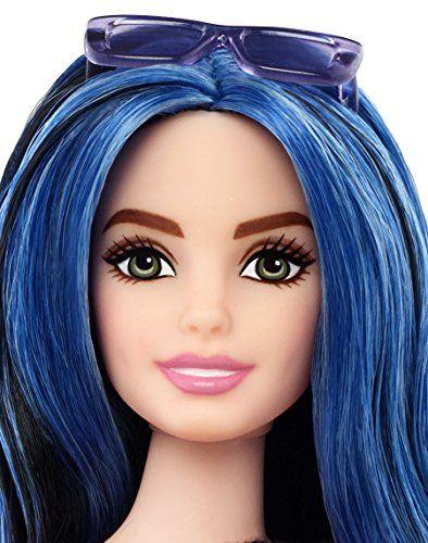 Barbie Fashionistas - Muñeca, franjas encantadoras (Mattel DMF29)