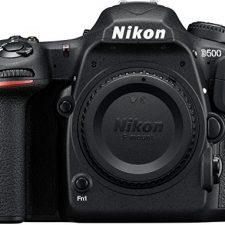 Nikon D500 – Cámara digital (20.9 MP, montura F, 10 fps, 4K), color Cámaras réflex