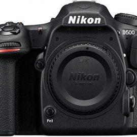 Nikon D500 – Cámara digital (20.9 MP, montura F, 10 fps, 4K), color