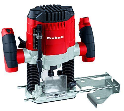 Einhell TC-RO 1155 E – Fresadora (1100 W, tensión: 230 – 240 V, Bricolaje y herramientas