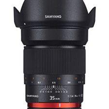 Samyang F1111006101 – Objetivo fotográfico DSLR para Sony E Objetivos para Cámaras