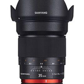 Samyang F1111006101 - Objetivo fotográfico DSLR para Sony E