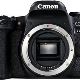 Canon EOS 77D – Cámara réflex de 24.2 MP (vídeo Full HD, WiFi,