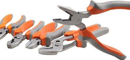 SYCEES Juego de Alicates 5 piezas, Material de aceros estructurales de