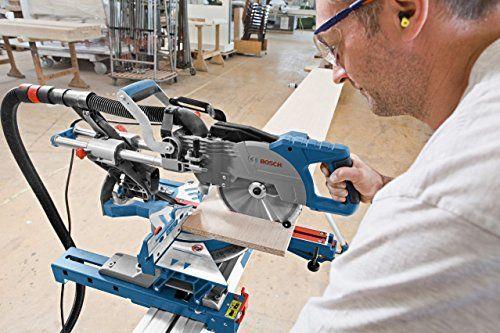 Bosch Profesional Ingletadora telescópica GCM 800 SJ (potencia: 1400