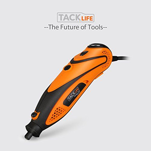 Tacklife Mini amoladora eléctrica Advanced Professional Kit de