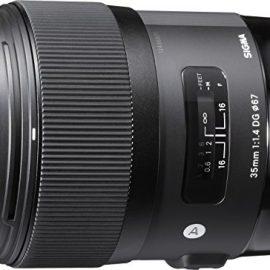 Sigma 35 mm / F 1,4 DG HSM – Objetivo para Canon (distancia focal fija