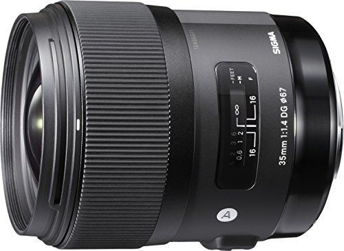 Sigma 35 mm / F 1,4 DG HSM – Objetivo para Canon (distancia focal fija Objetivos para Cámaras