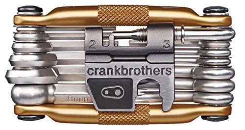 Crank Brothers Multi-19 – Herramientas para bicicletas dorado dorado Bricolaje y herramientas