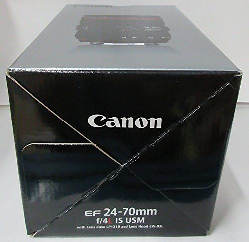 Canon 24-70 mm f/4 L IS USM EF – Objetivo para Canon (distancia focal