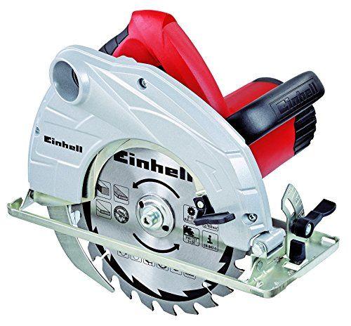 Einhell TC-CS 1400 – Sierra circular (potencia 1400 W, profundidad de Bricolaje y herramientas