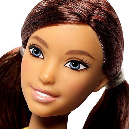 Barbie - Fashionistas 66 - Curvy - Muñeca con Vestido de Mariposa