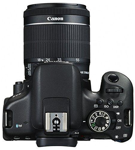 Canon EOS 750D - Cámara réflex digital de 24.2 MP (Kit con objetivo