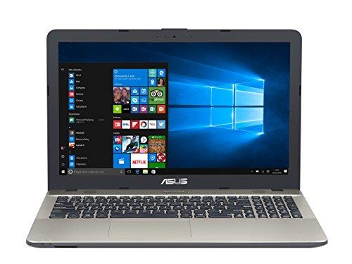 "ASUS K541UA-GQ1285T - Portátil de 15.6"" (Intel Core i3-6006U, RAM de 4 GB, 500 GB HDD, Intel HD Graphics 520, Windows 10) negro chocolate - Teclado QWERTY Español"
