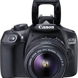 Canon EOS 1300D + EF-S 18-55 IS II - Cámara digital (18 MP, CMOS 5184