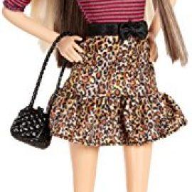 Barbie Fashionista Barbie Doll Leopard Print Skirt
