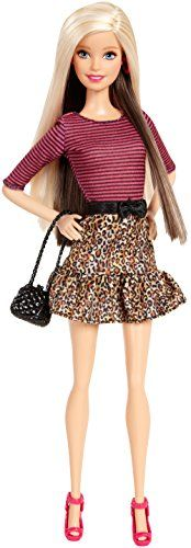 Barbie Fashionista Barbie Doll Leopard Print Skirt